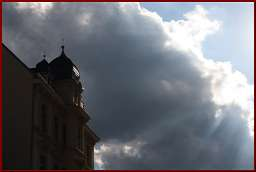 Wolken über Potsdam