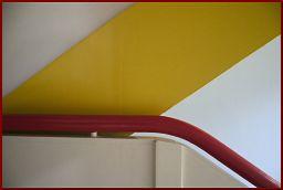 Bauhaus-Treppengeländer